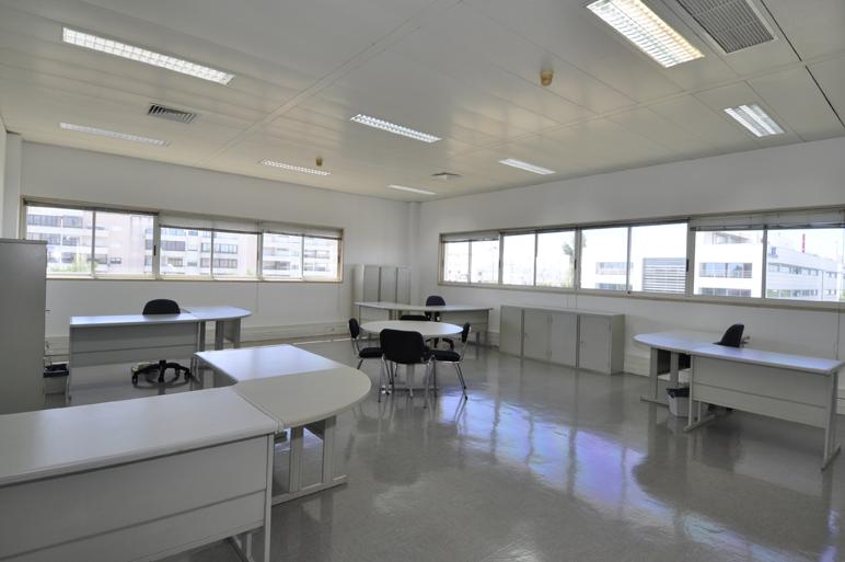 Sala do Centro de Incubação e Desenvolvimento