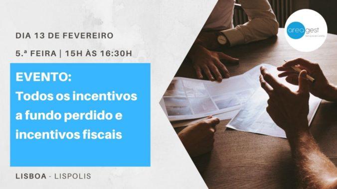 Todos Os Incentivos A Fundo Perdido E Incentivos Fiscais