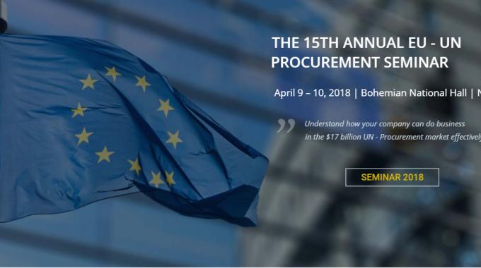 15th Annual Eu- Un Procurement Seminar