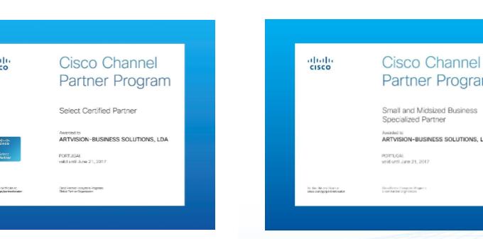 ArtVision Certificação Cisco
