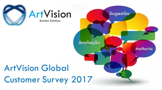 ArtVision Lança Global Customer Survey 2017