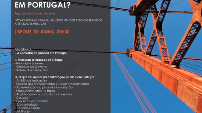"""""""O Que Vai Mudar Na Contratação Pública Em Portugal"""""""