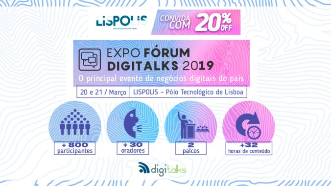 Expo Fórum Digitalks 2019 Lisboa