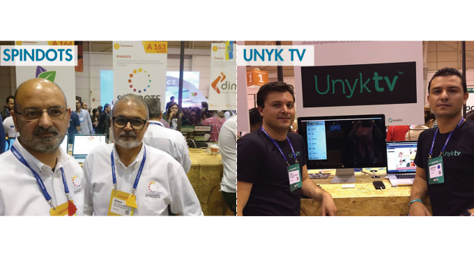 SPINDOTS E Unyk TV No WebSummit