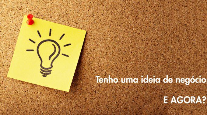Tenho Uma Ideia De Negócio (Startup Voucher)