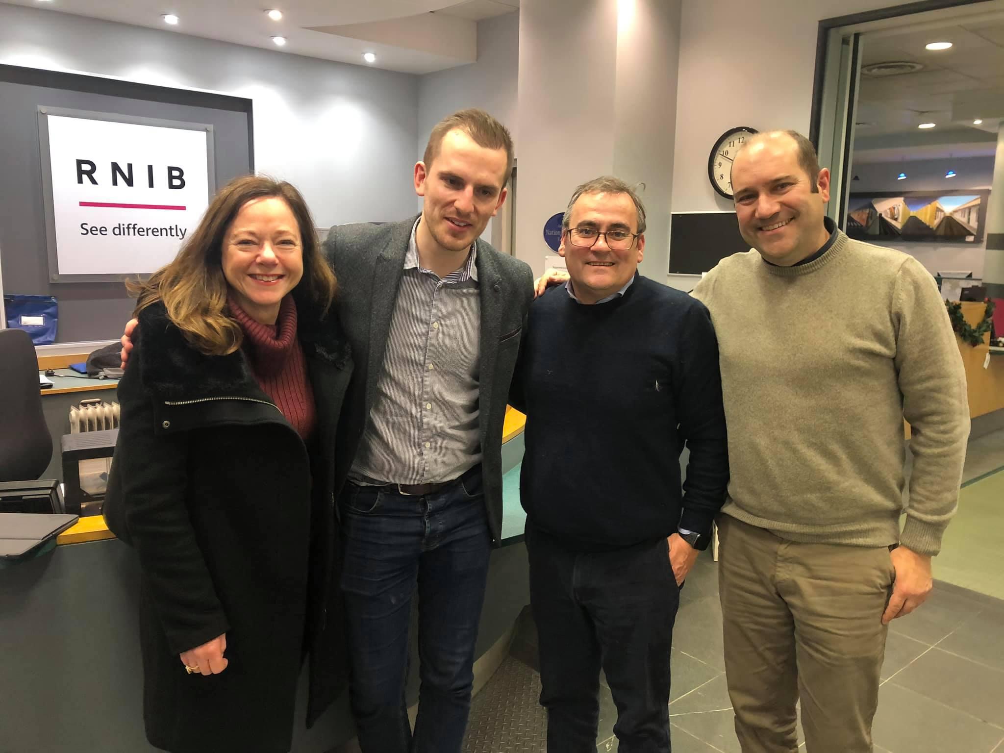 myEyes colabora com RNIB