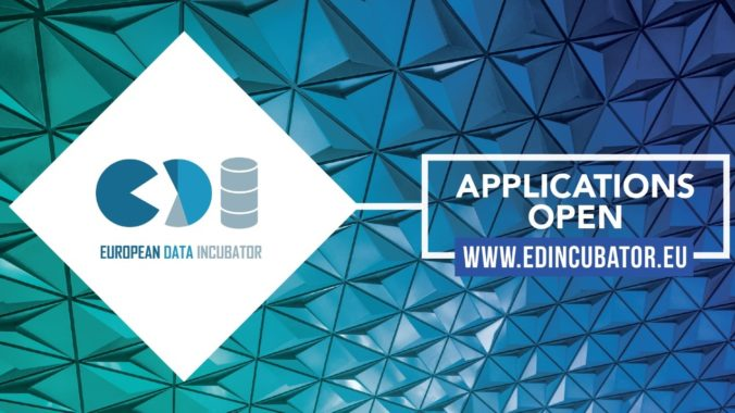 Candidaturas Abertas Para O European Data Incubator